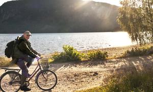 På sykkel langs fjorden