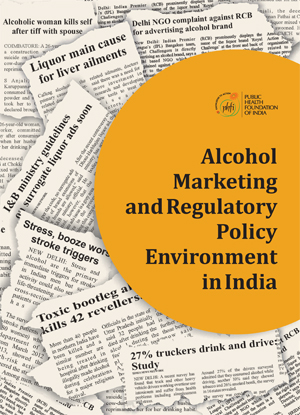 Front page Alcohol Marketing and Regulatory Policy Environment in India 2014-1.jpg