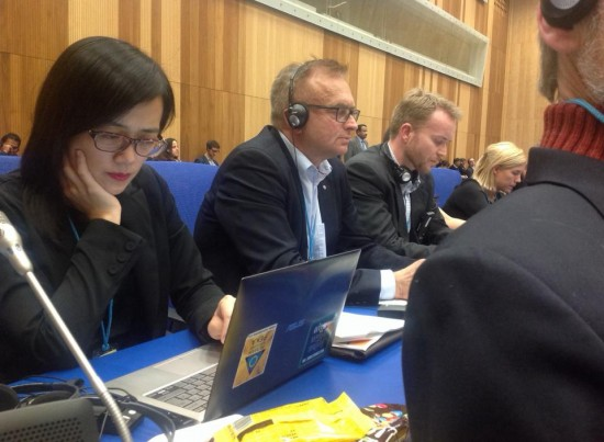 Sven-Olov preparing to speak at CND session.jpg