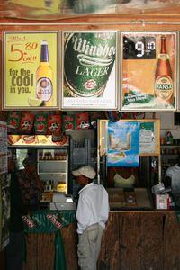 Ølreklame i butikk