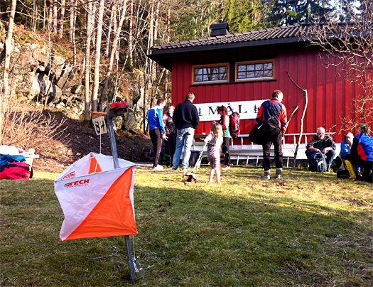 Skigardsloppet 2014 - Team Løver i samarbeid med Viul OK. Foto: OPN.no/Geir Nilsen.