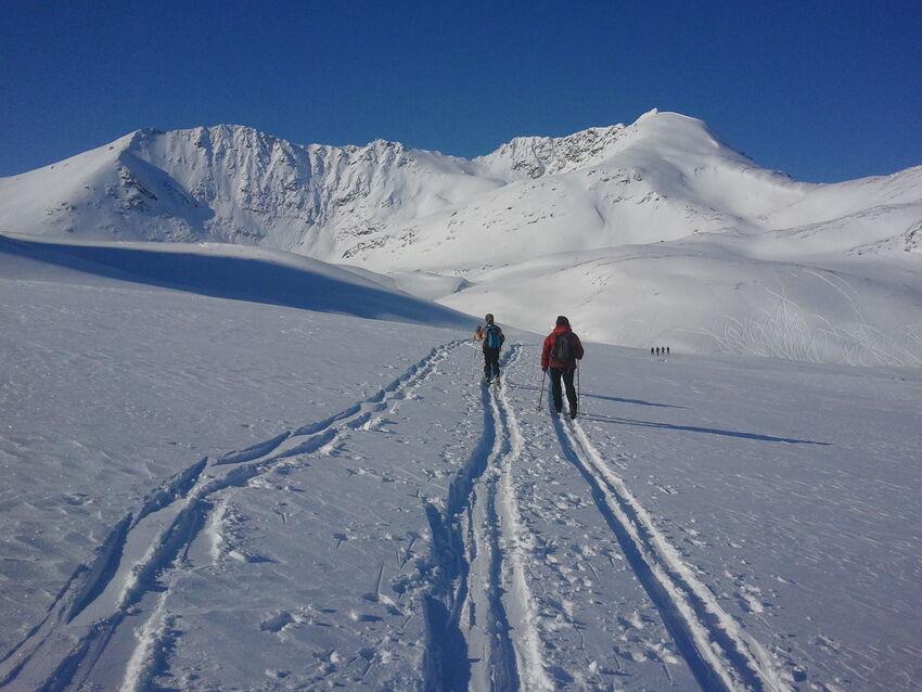 Ta gjerne med en venn på vintertur! Foto: Oddrun Skjemstad