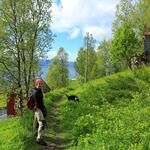 Starten av Kaldslettstien. Foto: Tine Marie Valbjørn Hagelin