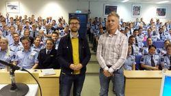 Rådgiver Johannes Flisnes Nilsen og seniorrådgiver Knut Evensen.