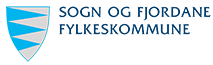 Til Sogn og Fjordane fylkeskommune si side. Logo Sogn og Fjordane fylkeskommune