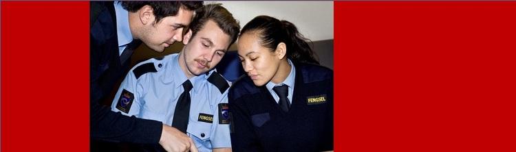 Fengselsbetjenter artikkel om kull 2015-16