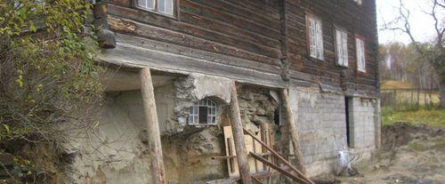 Gamalt hus