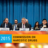 Yuri Fedoov closing the 58th CND session 2015