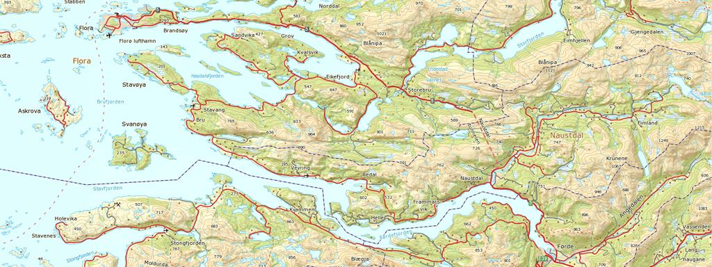 sogn og fjordane kart Kart   Sogn og Fjordane fylkeskommune