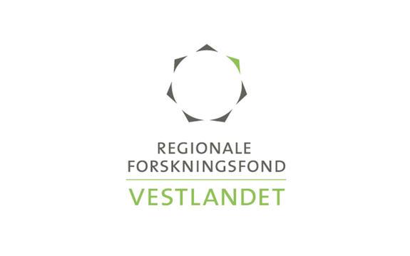 Logoen til Regionalt forskingsfond Vestlandet på kvit bakgrunn.