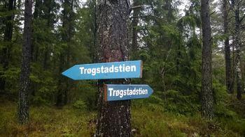 Skilt Trøgstadstien