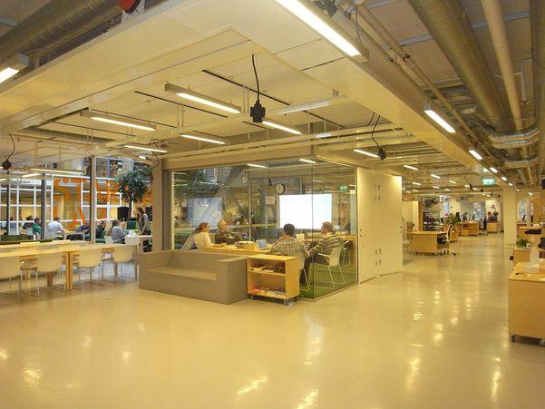 Bilete frå besøket på StartupLab i Oslo