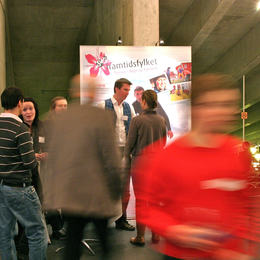 Framtidsfylket på karrieremesse i Bergen. Foto Arild Finne Nybø