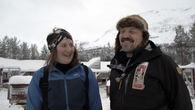 Nora Själin og Tom Frode Johansen er i full trening før det 1600 km lange hundeløpet Yukon Quest i Alaska.