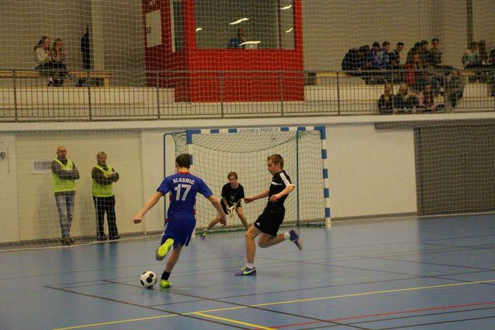 Open hall med fotball