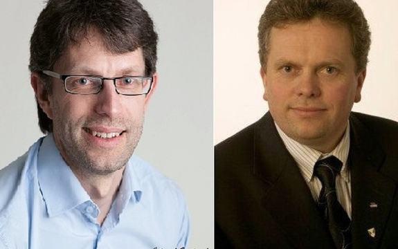 Ny leiar Hans Erik Ringkjøb og ny nestleiar Jan Ove Tryggestad i Verdsarvrådet for Vestnorsk fjordlandskap.