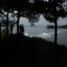 Bilete frå øya Careneras i Panama