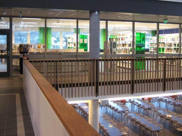 Biblioteket på Sogndal videregåande skule