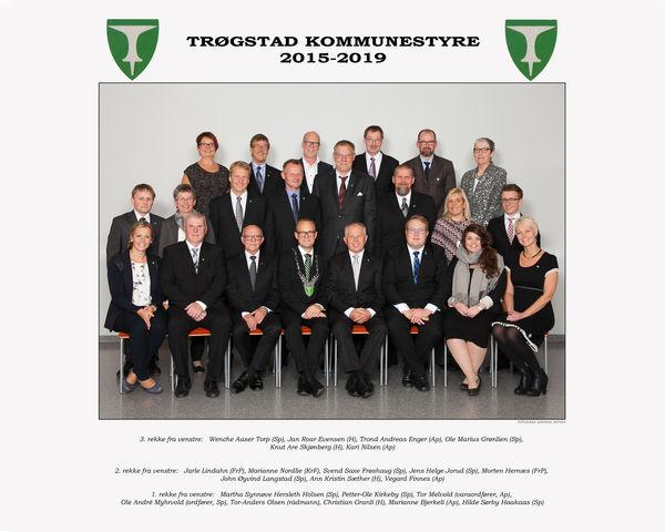 Offisiellt bilde kommunestyret 2015-19