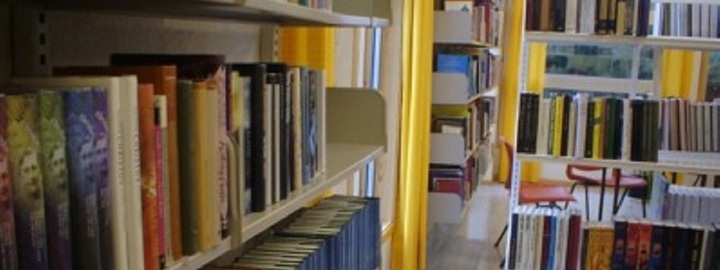 Bøker på biblioteket