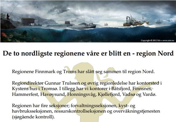 Fiskeridirektoratet region Nord