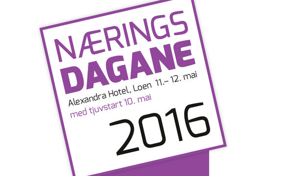 Logo for næringsdagane 2016