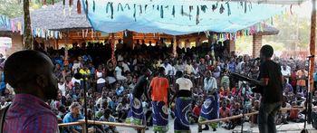 Nkhotakota music festival 2016, ca 2000 fornøyde publikum