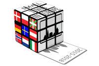 Rubics kube, logo til Erasmus+