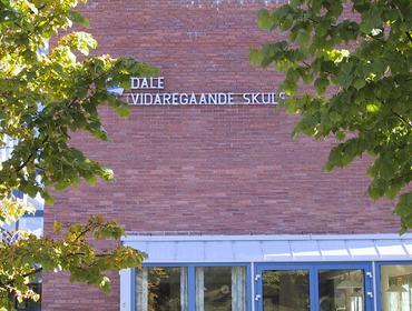 Utsida av Dale vgs.