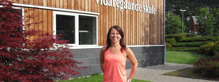 Miljøkoordinator Therese Dispen