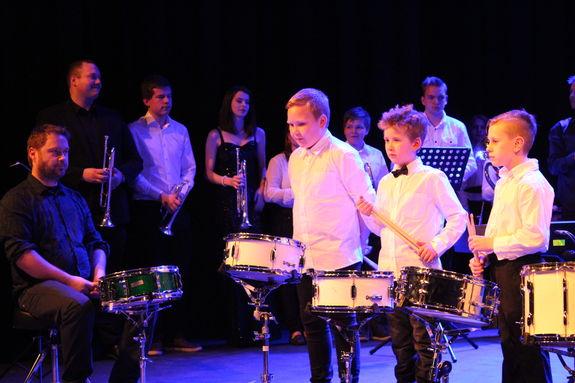 Jubileumskonsert trommer