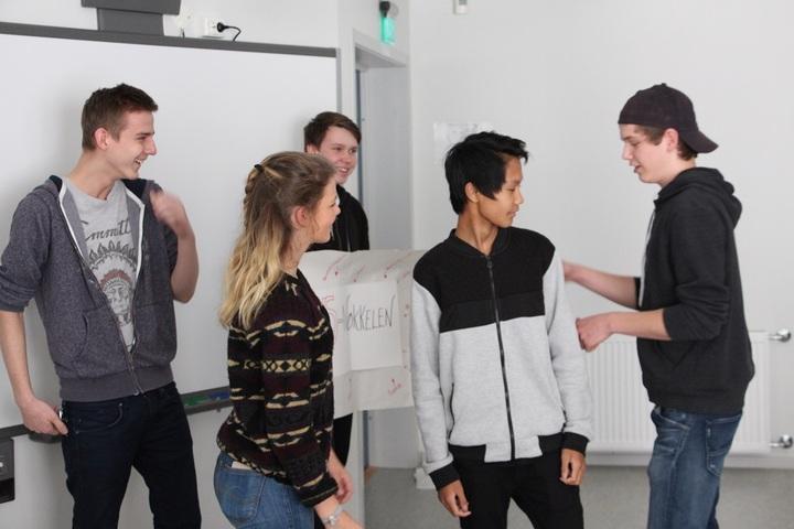 Elevar i 1 TPA demonstrer KS-nøkkelen