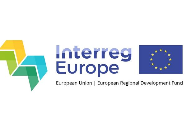 Interreg Europe logo med EU-flagg