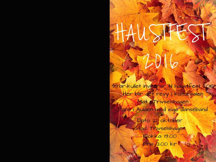 Haustfestplakat 2016