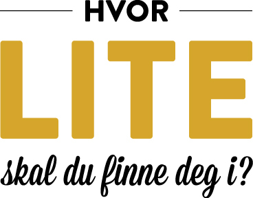 Logo - hvor lite skal du finne deg i
