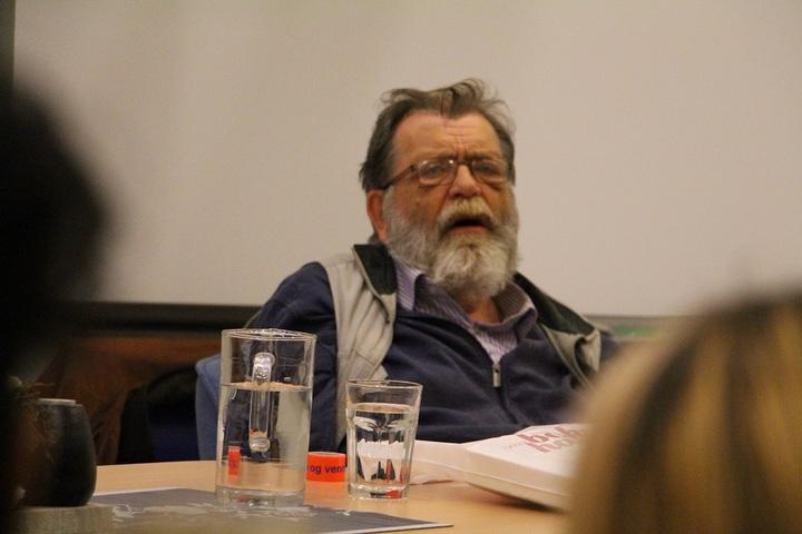 Professor Frank Aarebrot på Dale vgs