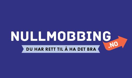 Logo nettside til nullmobbingdottno