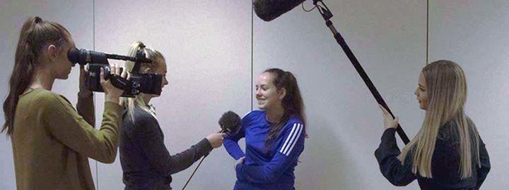 Intervju med videokamera
