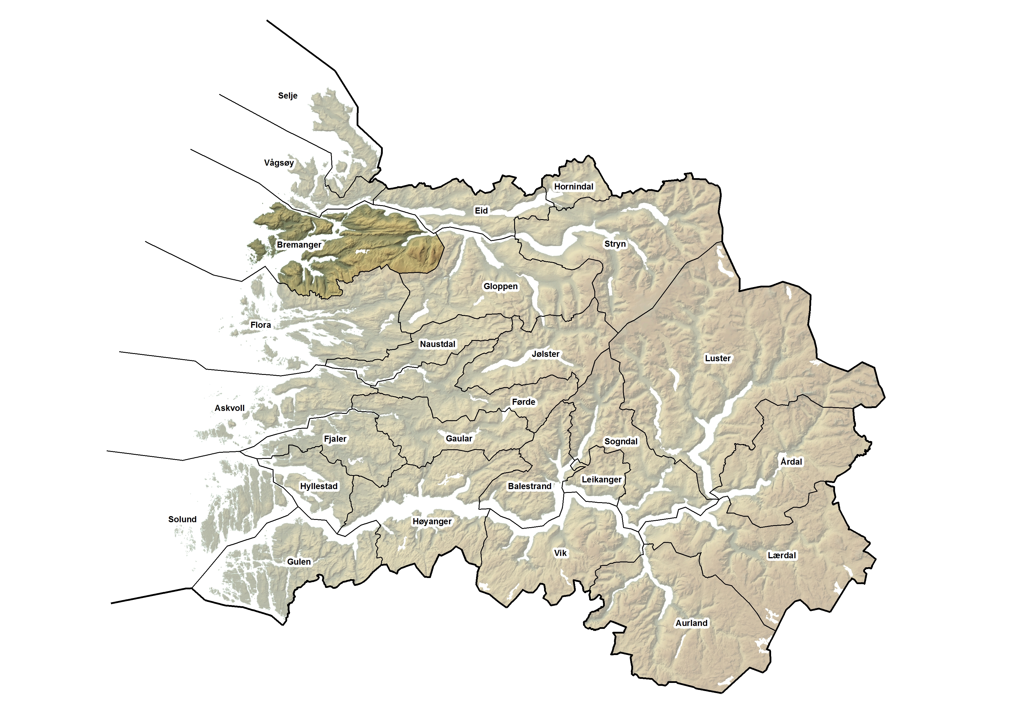 Bremanger kommune, kart.jpg