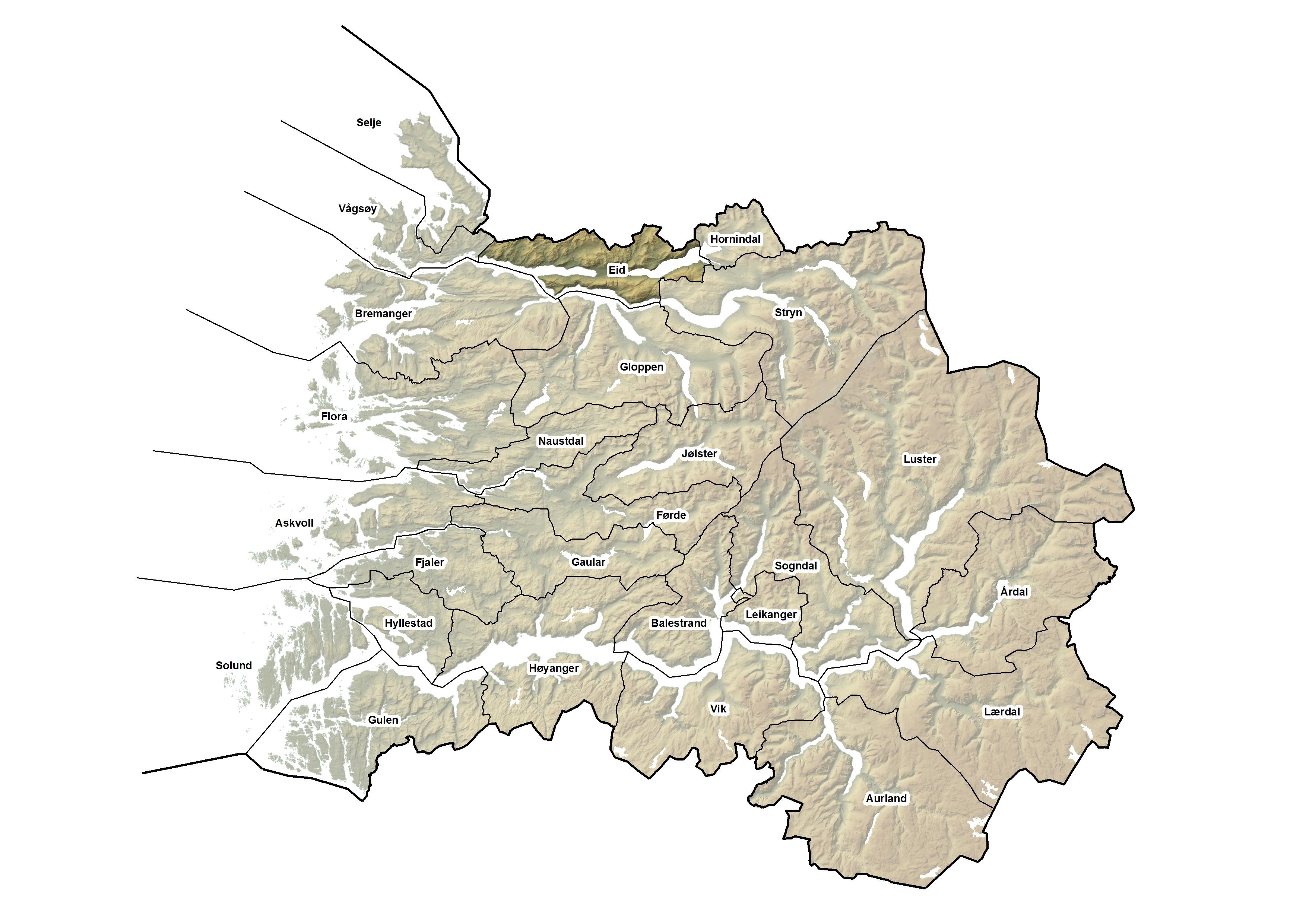Eid kommune, kart.jpg