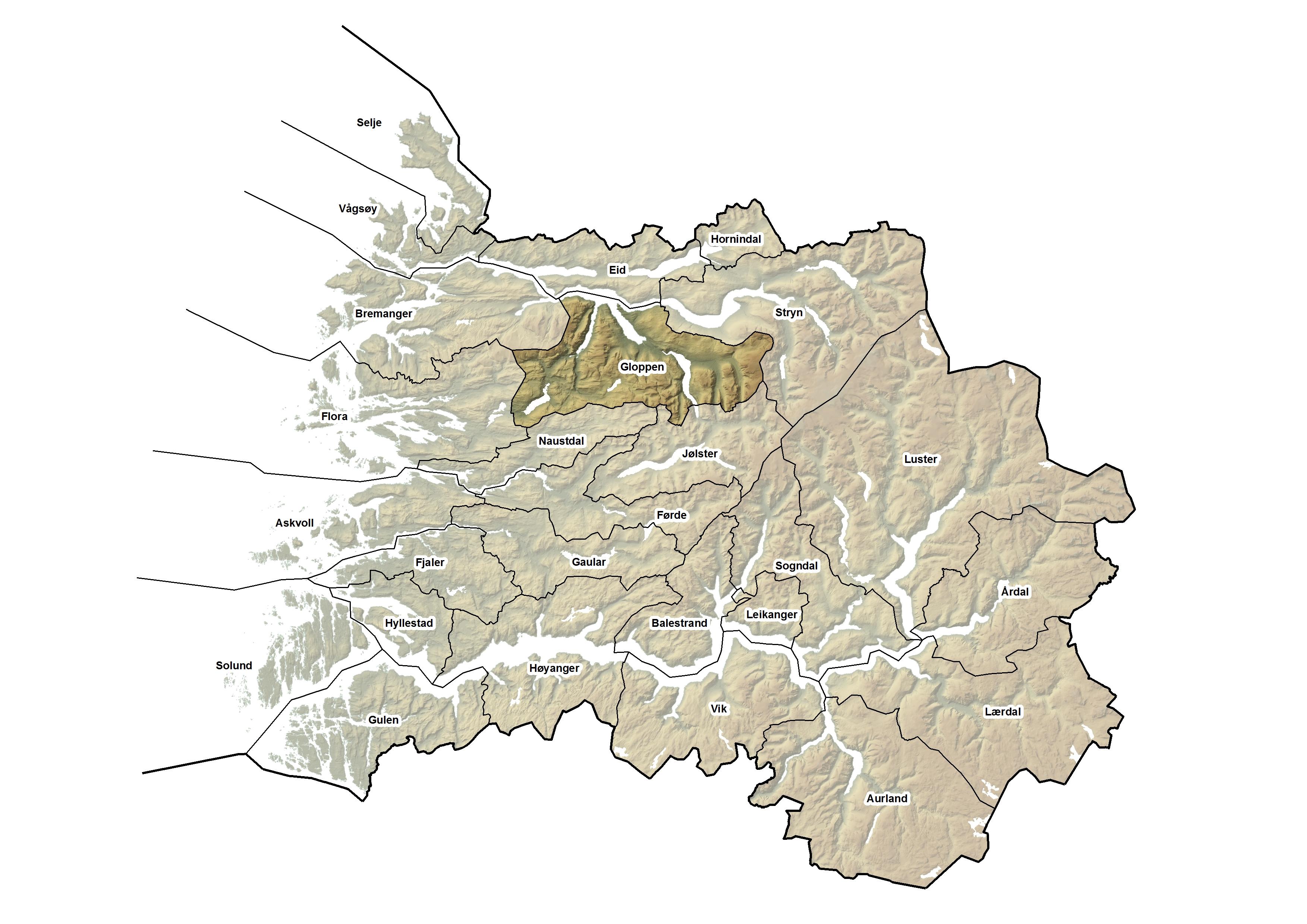 Gloppen kommune, kart.jpg