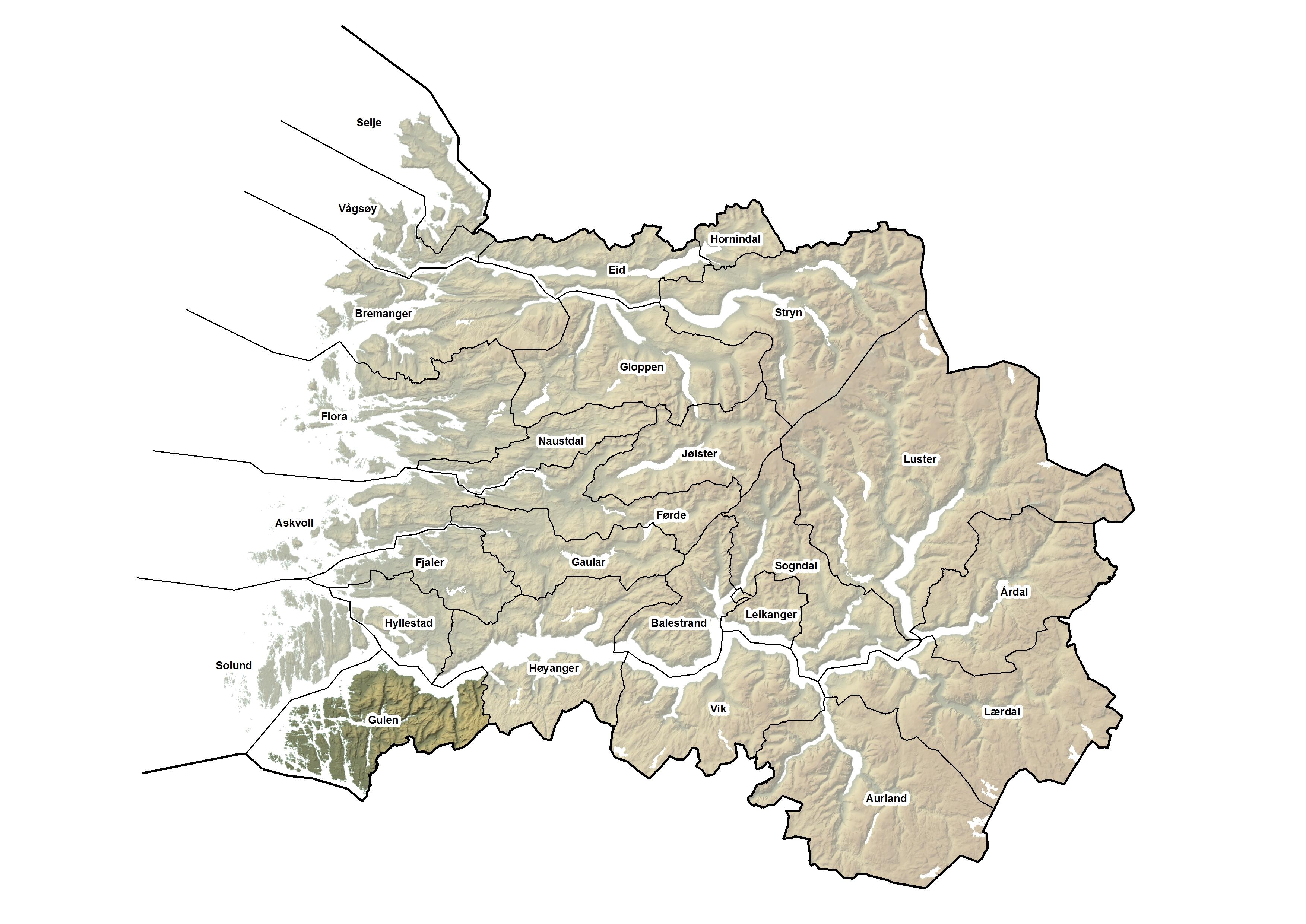 Gulen kommune, kart.jpg