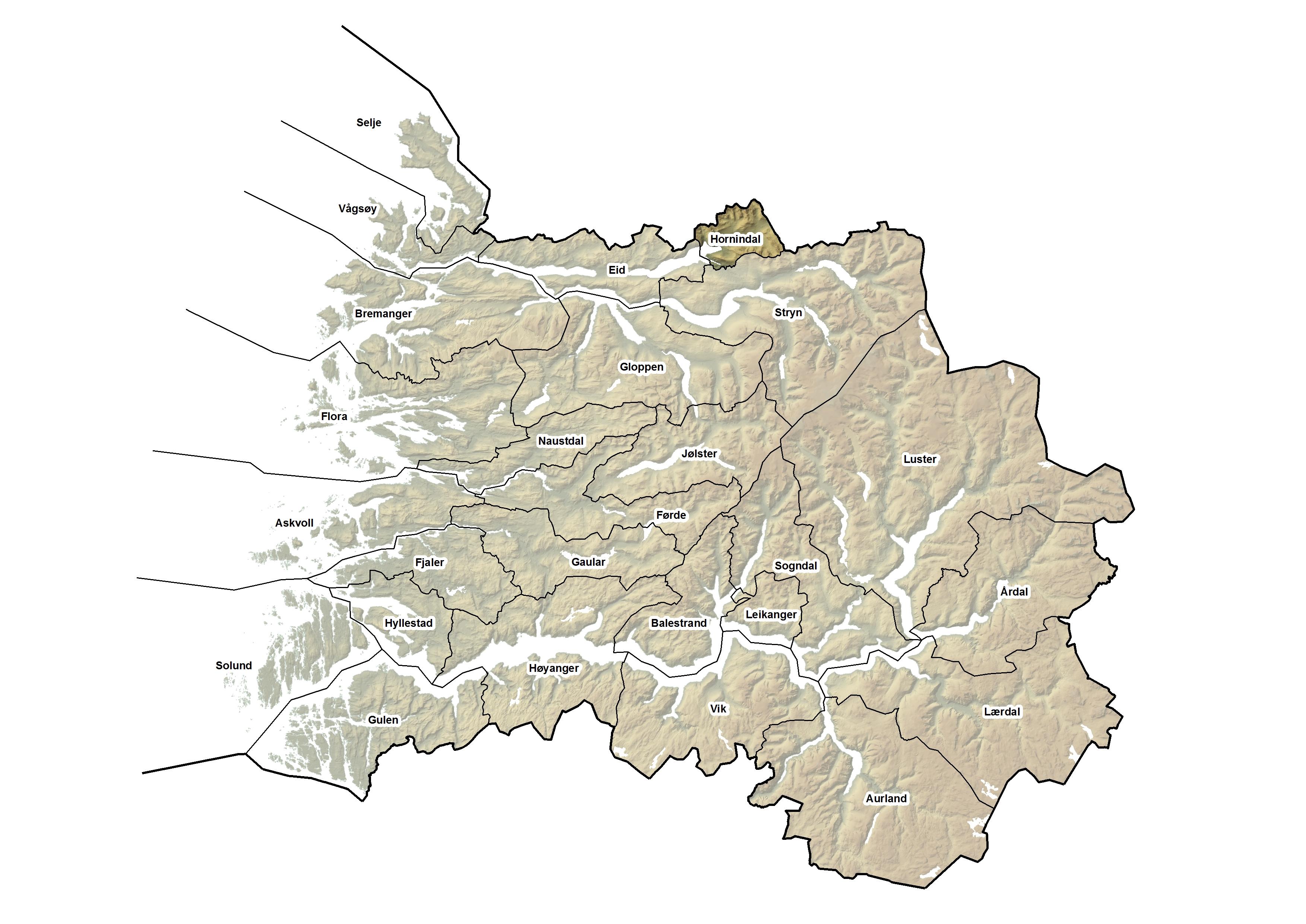 Hornindal kommune, kart.jpg