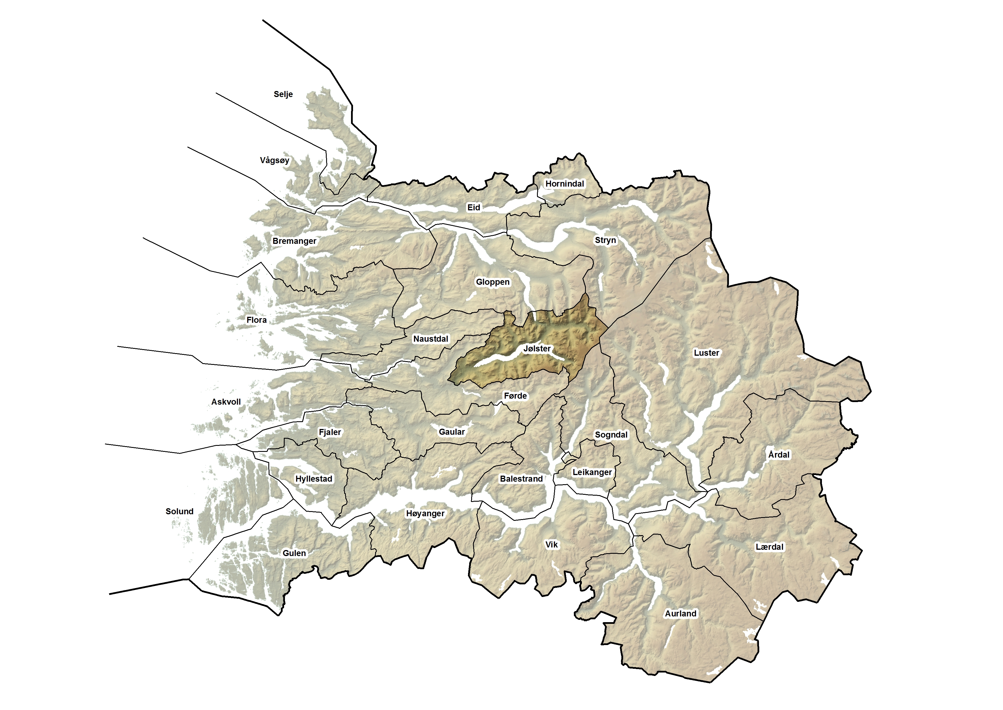 Jølster kommune, kart.jpg