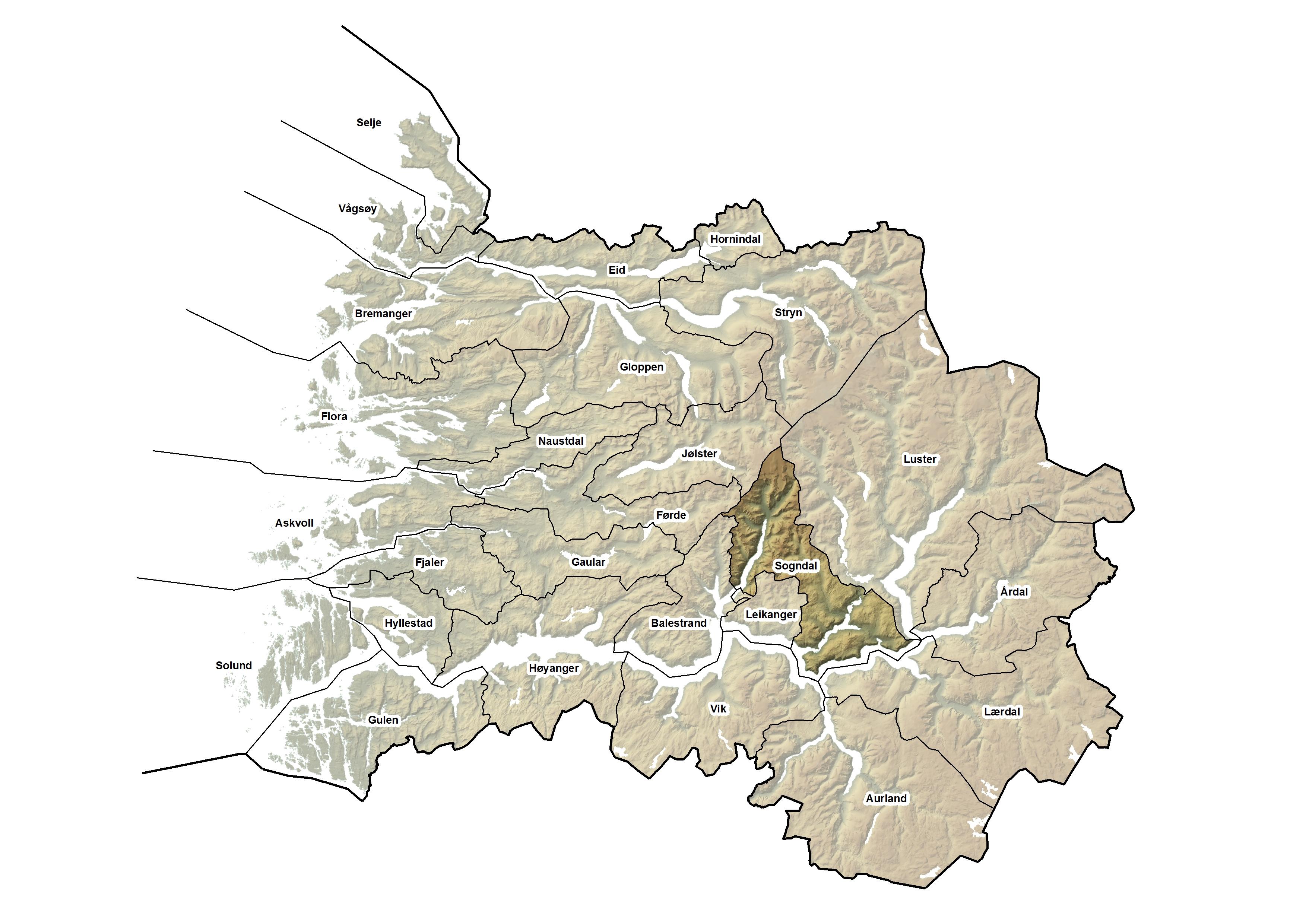 Sogndal kommune, kart.jpg