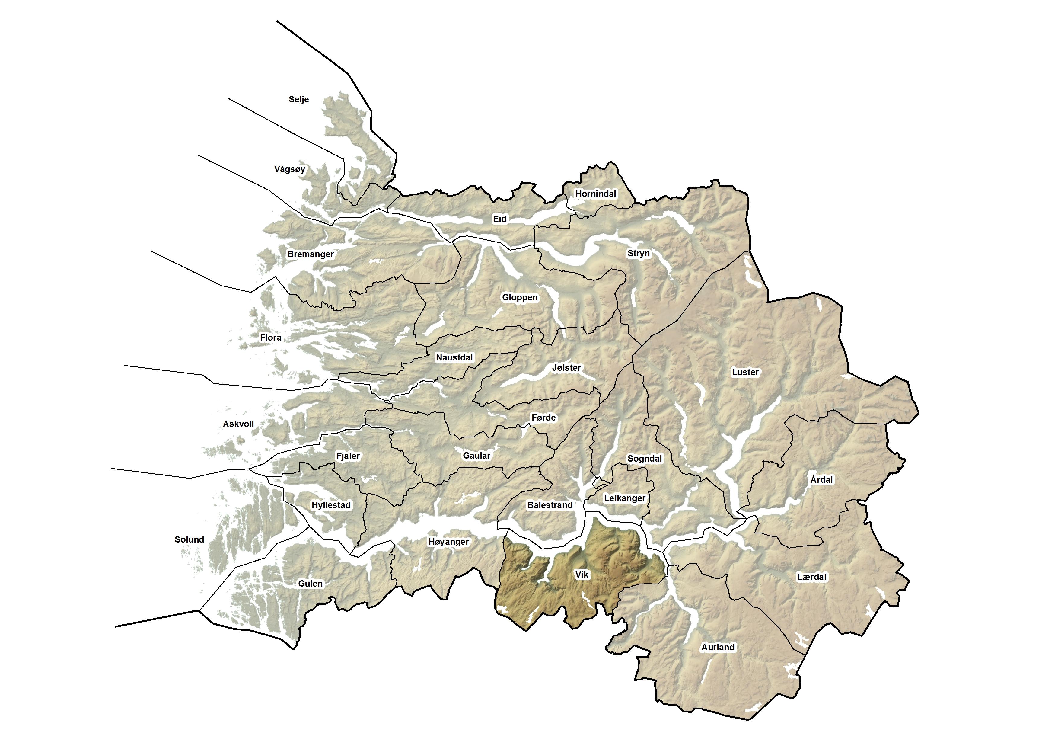 Vik kommune, kart.jpg
