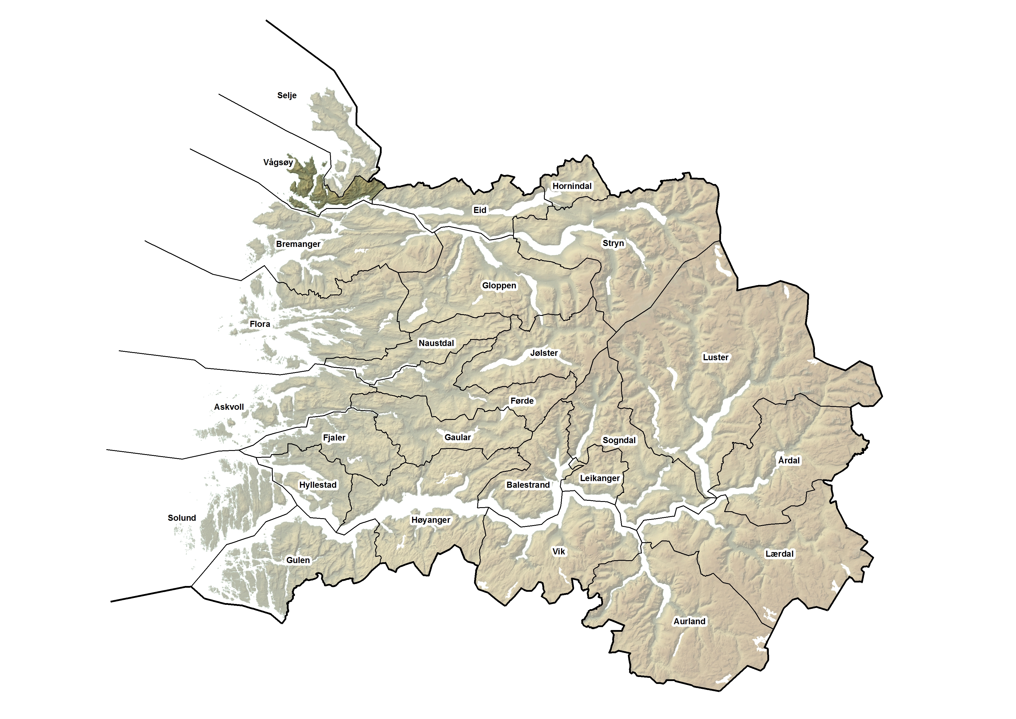 Vågsøy kommune, kart.jpg