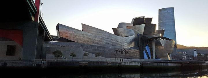 Moderne bygg av Guggenheim