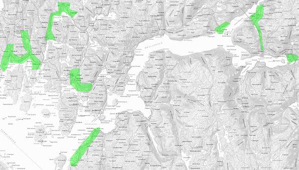 Fullstendig breibandskart over Masfjorden