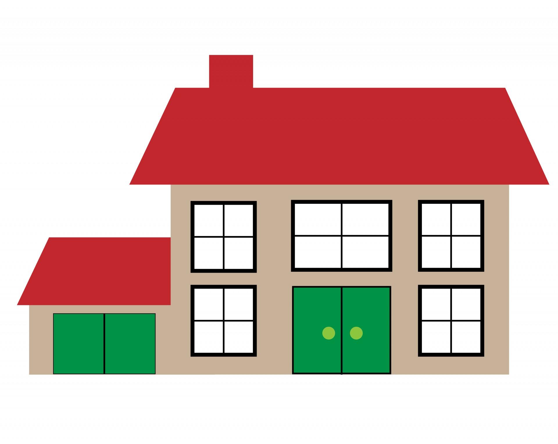 Illustrasjon hus